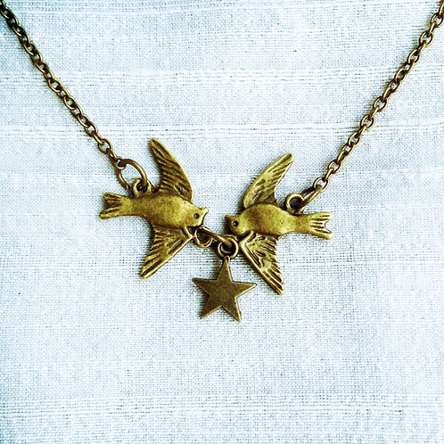 """""""LITTLE BIRDS"""" Bronze"""