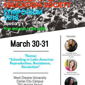 Symposium: Schooling in Latin America: Reproduction, Resistance, Revolution