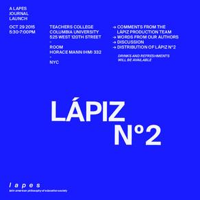 LÁPIZ Nº2 Launch NYC