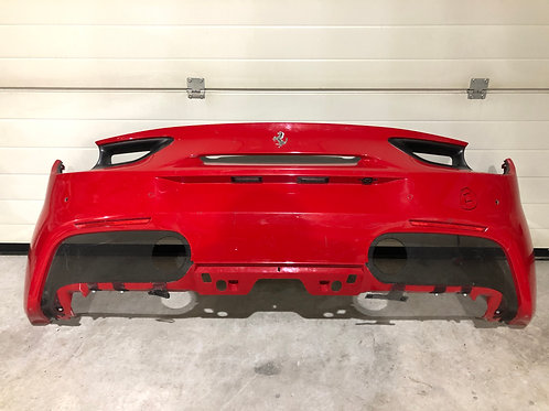 Ferrari 488 GTB Rear bumper, non carbon