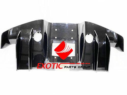 Bugatti Chiron Rear diffuser