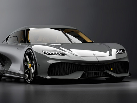 New Koenigsegg Gemera Is A Four-Seater 'Mega-GT' With Massive Scissor Doors And 1,700 HP
