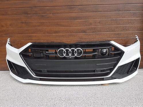 Audi S7 4K8 C8 S Line front bumper complete, OEM Part