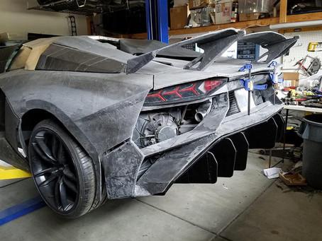 3D-Printing A Lamborghini Aventador