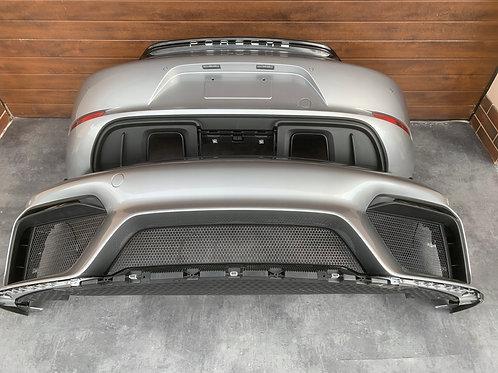 Porsche GT4 Front bumper and rear bumper