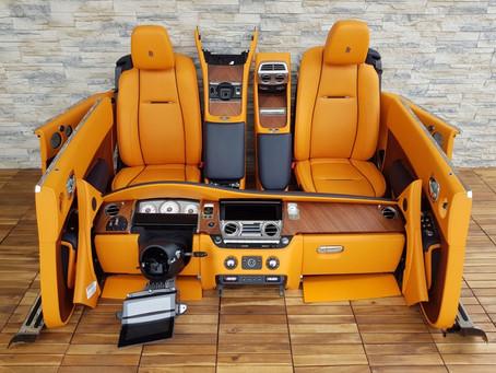 Rolls Royce Dawn interior