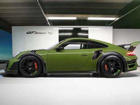 TechArt Reveals 770-HP Porsche 911 Turbo S