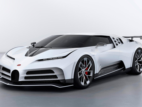 Presenting The 1,600-HP Bugatti Centodieci