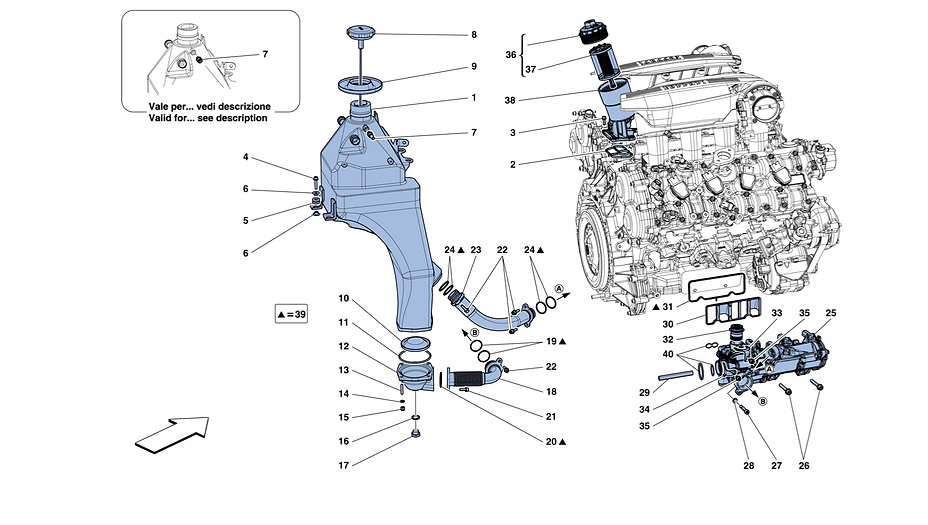 Lubrication System- Tank, Pump And Filte