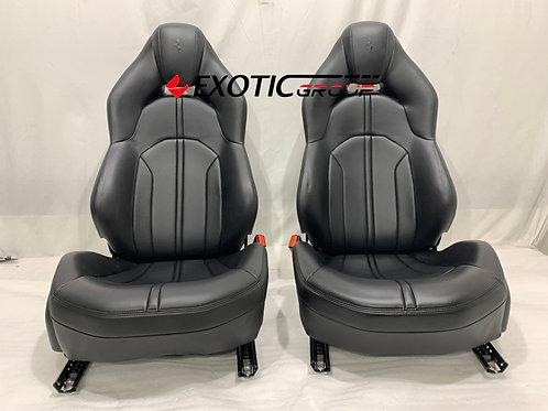 Ferrari F8 Tributo seat complete, Genuine OEM Part