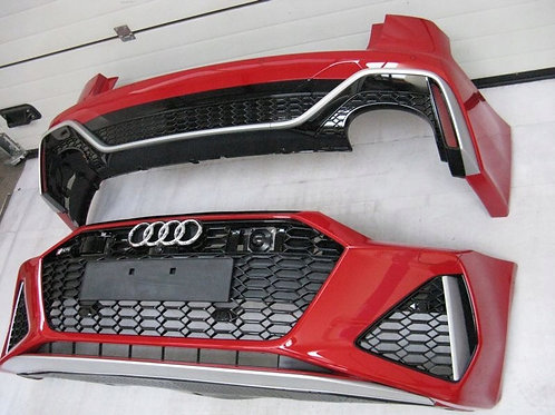 Audi RS6 2020 Front and rear bumper complete, OEM Part