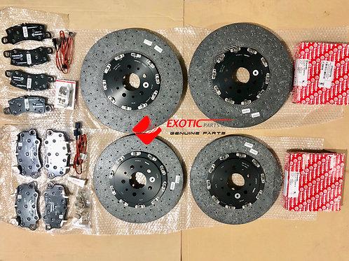 Ferrari 488 GTB brake disc complete