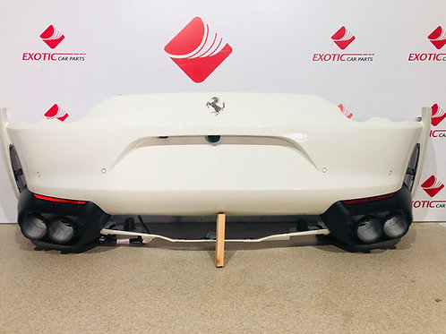Ferrari 812 Superfast Rear bumper new OEM Part