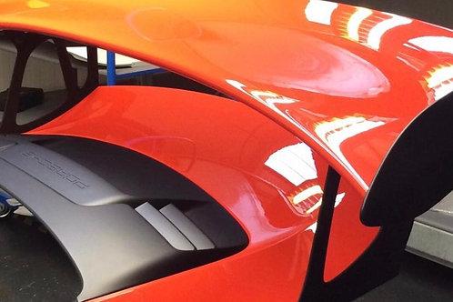 Porsche GT3 RS Rear spoiler, OEM part complete