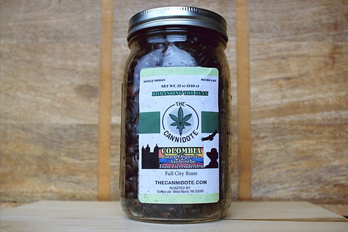 CBD Colombian Coffee - 12 oz Jar