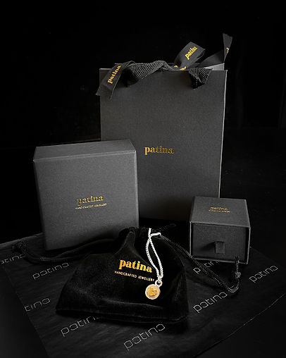 Patina Jewellery online orders come in beautiful gift packaging