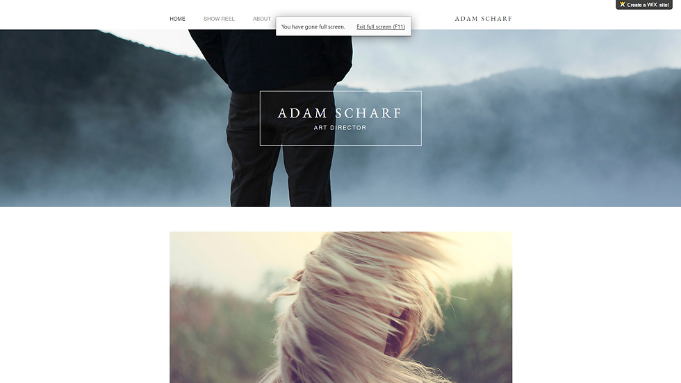 ART | WIX - 4 PAGE SITE