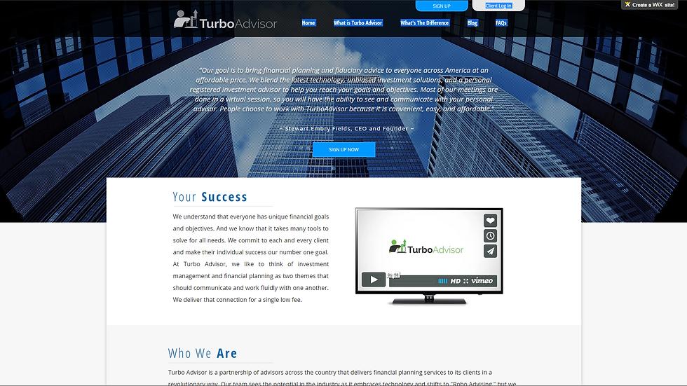 Turbo Advisor | APPME - 10 PAGE SITE