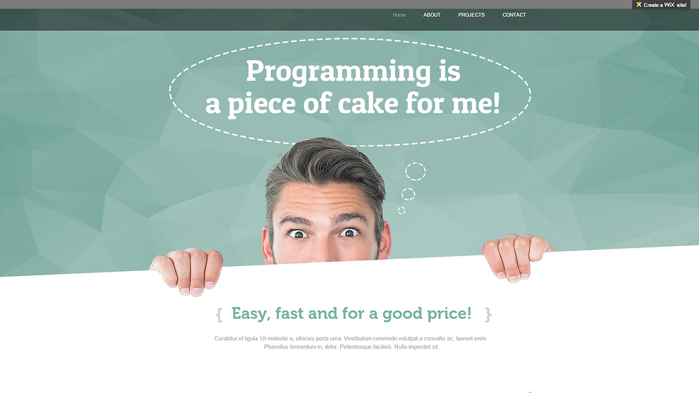 Programming Theme | APPME - 4 PAGE SITE