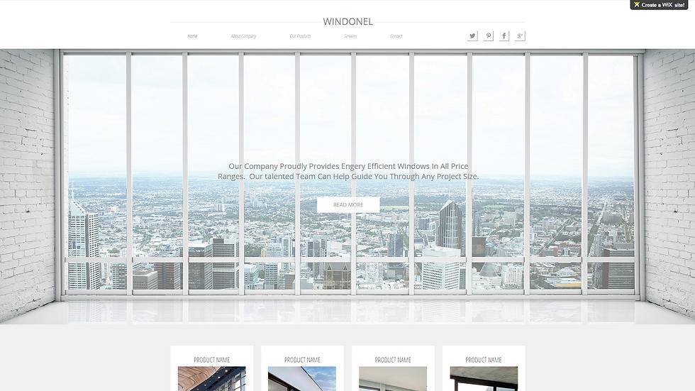Windonel | APPME - 5 PAGE SITE