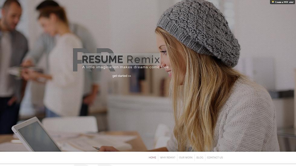 RESUME Remix | APPME - 5 PAGE SITE