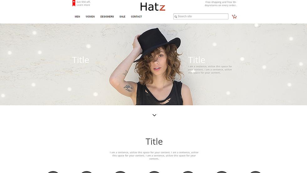 HATZ | APPME - 10 PAGE eCommerce