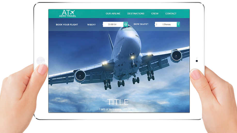AT AERO TRAVEL | APPME - 5 PAGE SITE