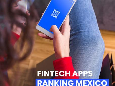 Ranking de apps fintech en México