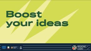 Boost your ideas. Il futuro dopo l'emergenza