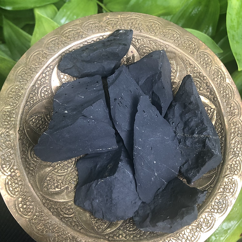 Shungite (sm/md raw intuitively picked)