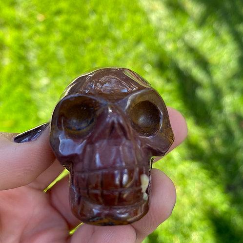 Mookaite Jasper Skull