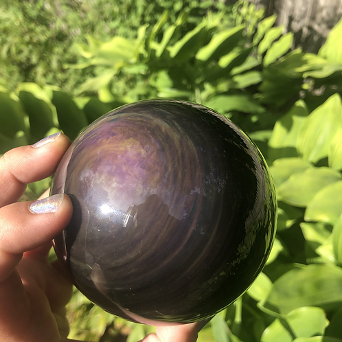 Obsidian (Rainbow XL sphere)