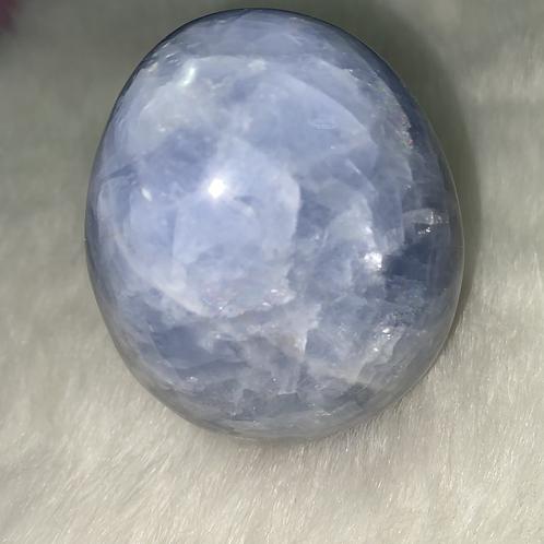 Blue Calcite (standing)
