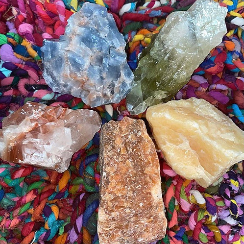 Large Calcite Set