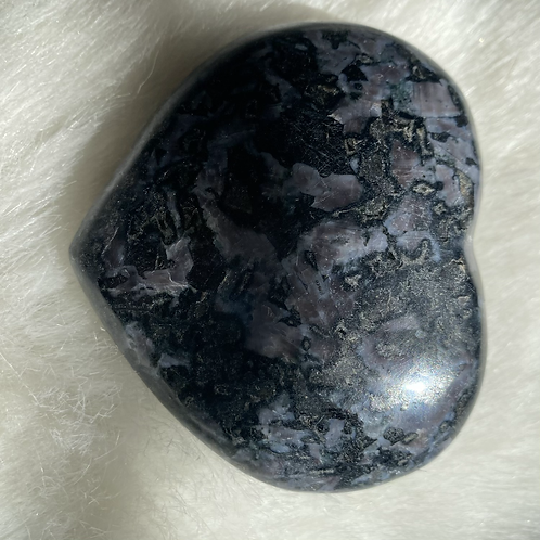 Indigo Gabbro/Merlinite Heart