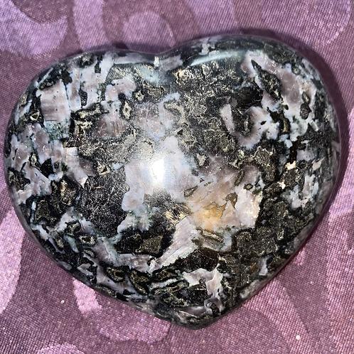 Indigo Gabbro/Merlinite Heart