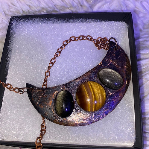 Crescent Moon Empower Necklace