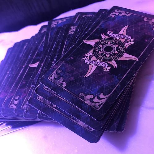 Tarot card & message