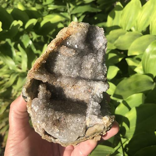 Amethyst Geode (large lavender)