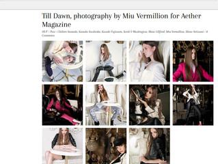 Till Dawn - A Fashion Editorial Shoot in Tokyo