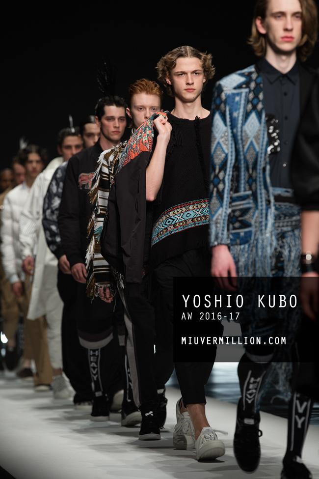 Yoshio Kubo - AW 2016-17