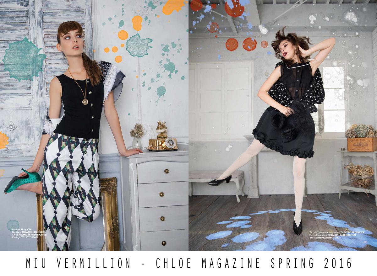 miu vermillion   Fashion Editorial