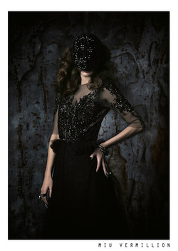 Dark Fashion Editorial