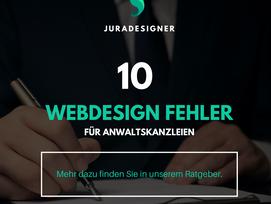 Die 10 häufigsten Fehler, die Sie beim Webdesign vermeiden können