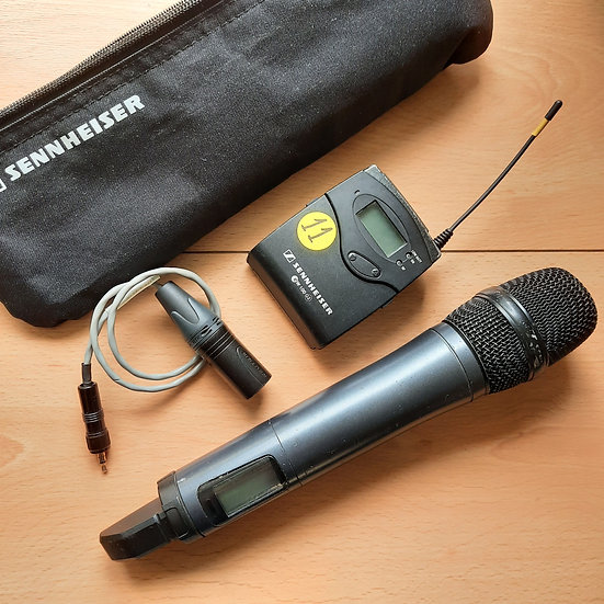 Kit micrófono de mano Sennheiser G3-1