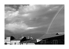 serie Panoramic Views Veduta con arcobaleno CATANIA, Italy, 2015