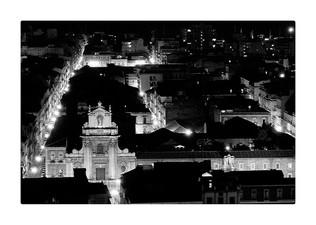Veduta di Piazza S. Domenico, Catania, Italy, 2012