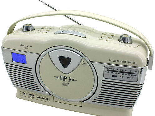 Музыкальный центр StreamLiner RetroCD350Сreme