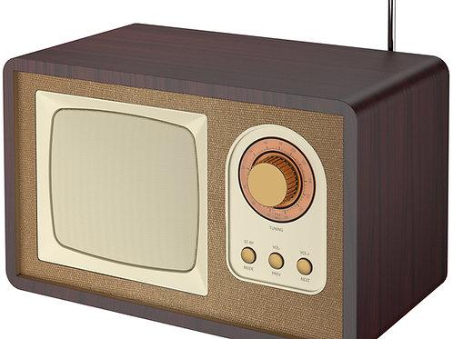 Радио -ретро плеер+радио Kentukki HRA-1435