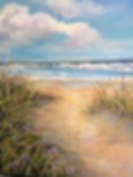 16x20 acrylic to the beach.jpg